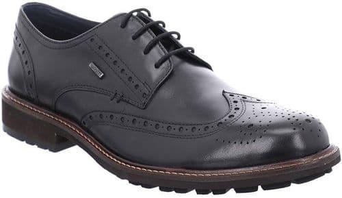 Josef Seibel Jasper 53 Lace Mens Shoes Black